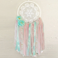 Pastel Dreamcatcher Wall Hanging