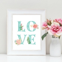 Love Nursery Art Print