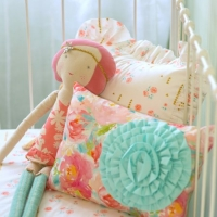 Pastels + Peonies Pillow Set