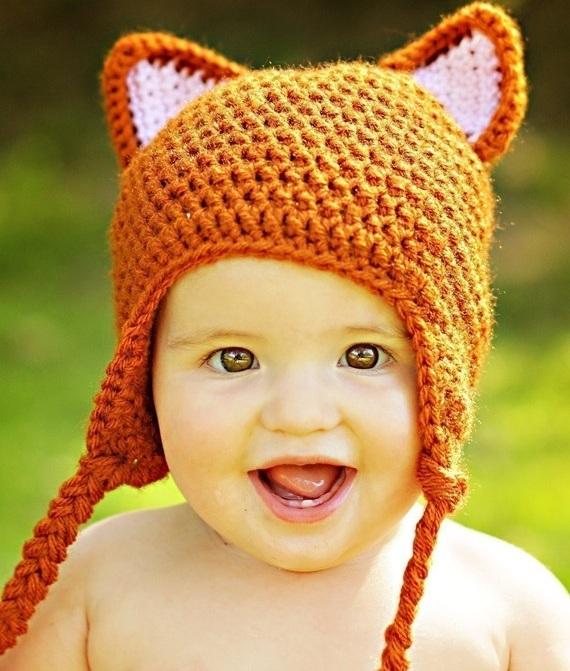 Woodland Fox Baby Beanie - Lottie Da Baby 4478820cb64