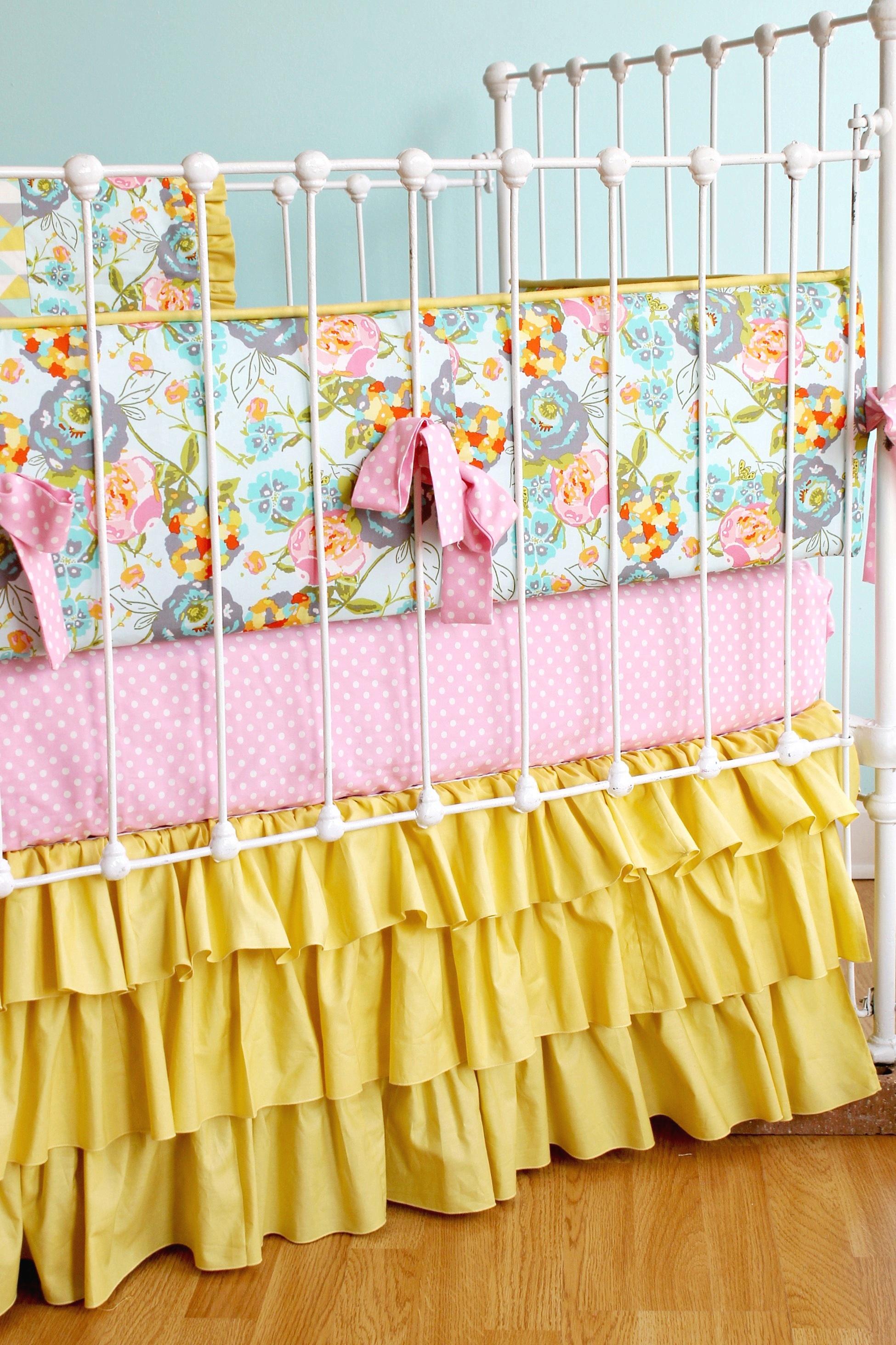 Lily Belle Yellow Baby Bedding Lottie Da Baby