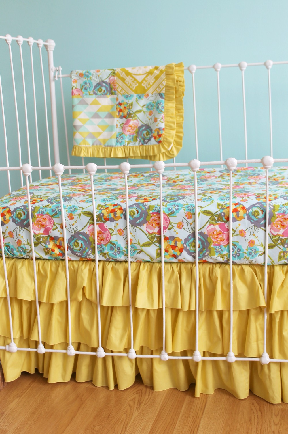 Lily Belle Turquoise Baby Bedding Lottie Da Baby