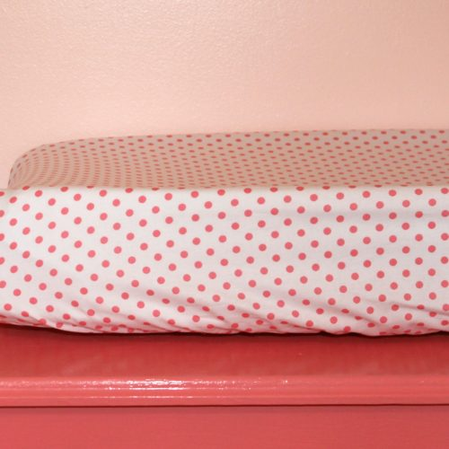 coral changing pad cover
