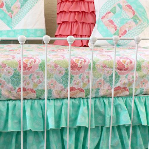 Mint Mosaic Pillows