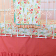 Reminisce Coral Bumperless with Blanket
