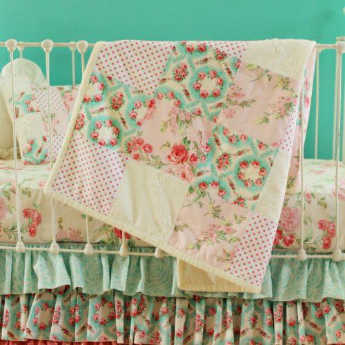 antique primrose blanket