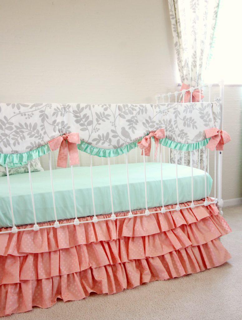 Leafy Dreams Bumperless Baby Peach Version Lottie Da Baby