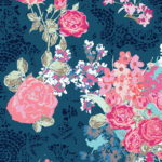 Navy Floral 2