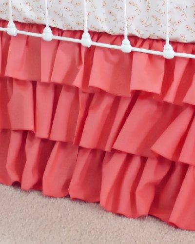 coral-ruffle-skirt