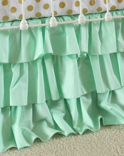 mint-ruffle-skirt