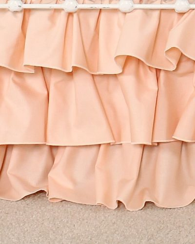 peach-ruffle-skirt
