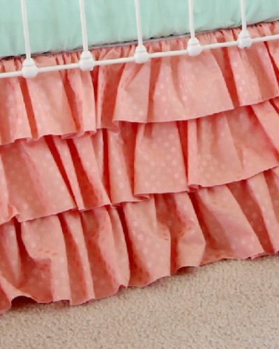 pearlized-peach-dot-gather-skirt