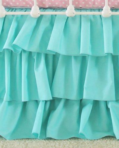turquoise-ruffle-skirts