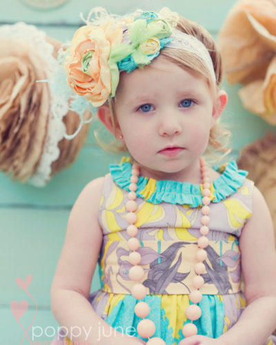 girls custom easter dress