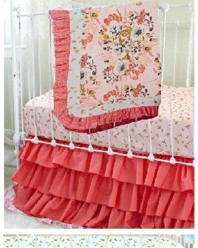 Mallory F. Blush Pink Floral Set