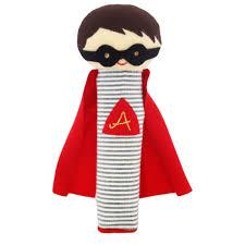 Super Hero Squeaker Rattle - Alimrose