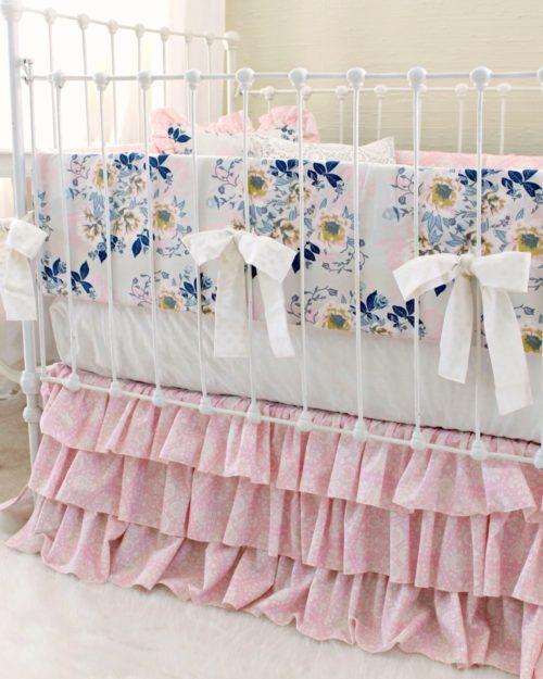 Custom Baby Bedding Girls Crib Bedding Lottie Da Baby