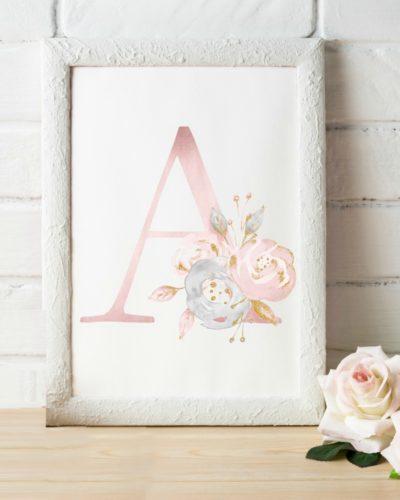 floral nursery art