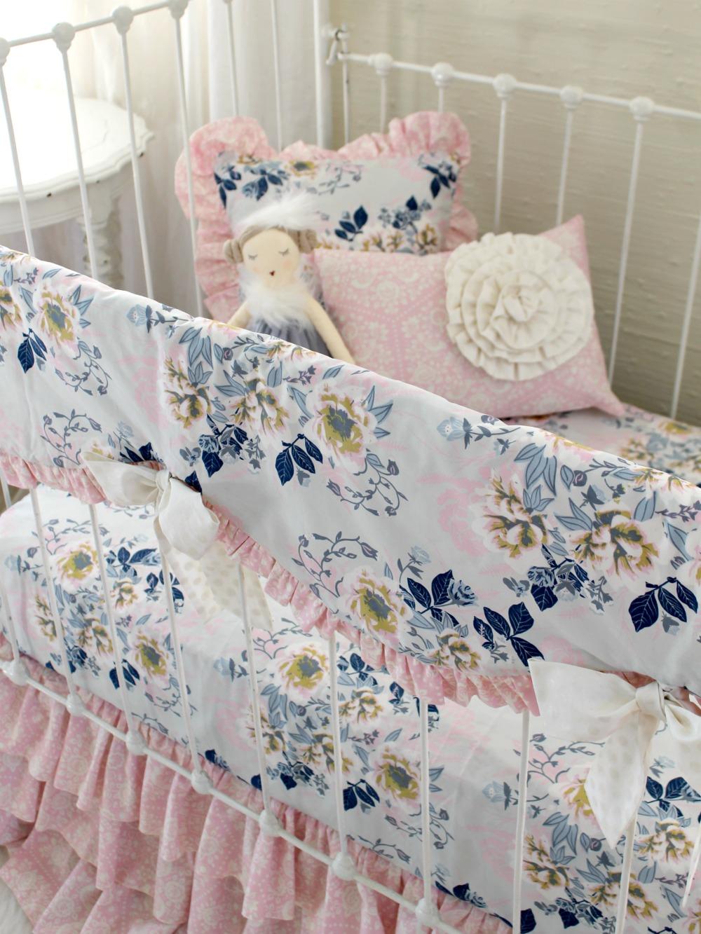 Ethereal Lullaby Blanket Bumperless Baby Bedding Lottie