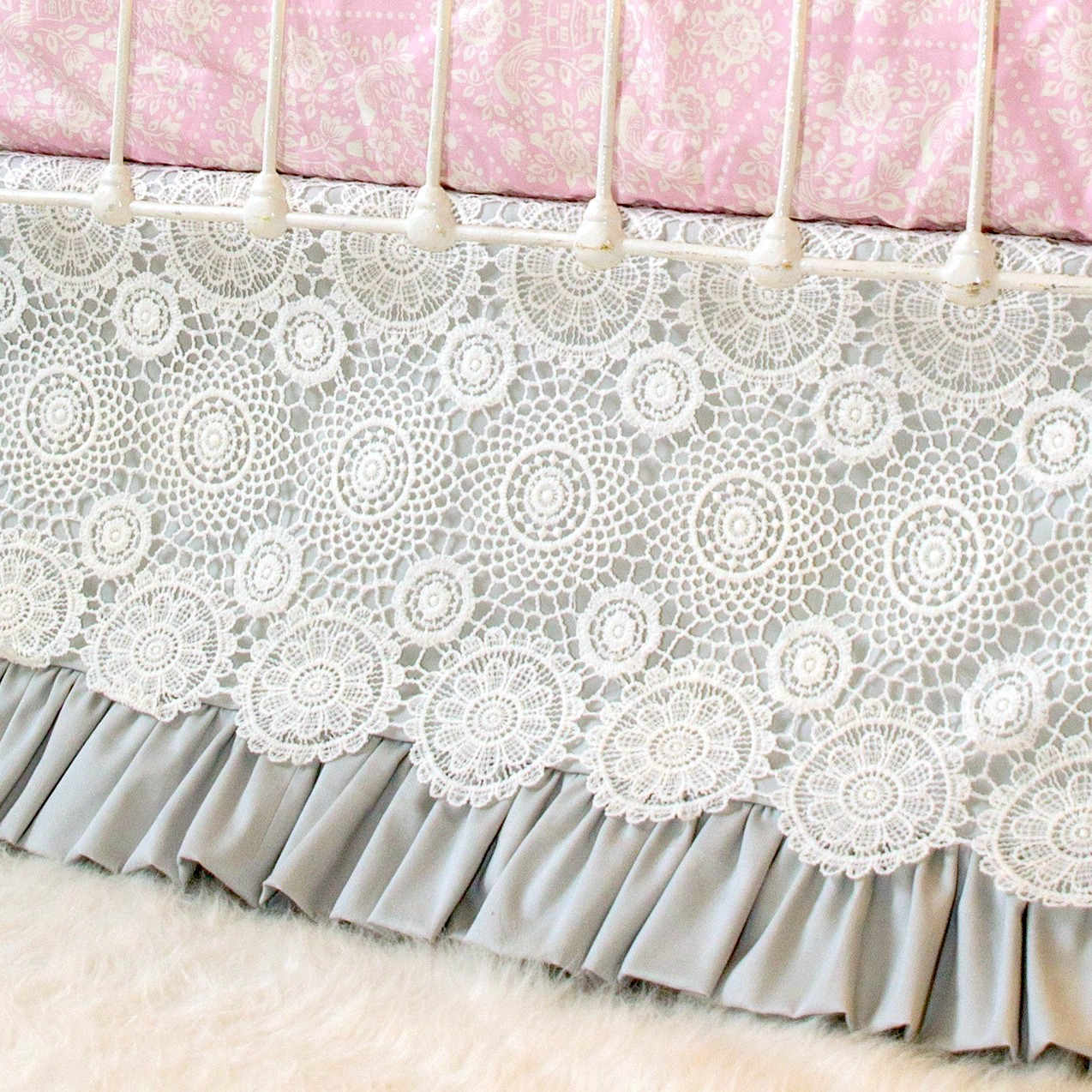 of skirt linensncurtains to fabric many make crib a yards com how blog