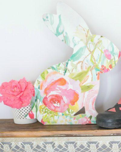 bunny nursery decor