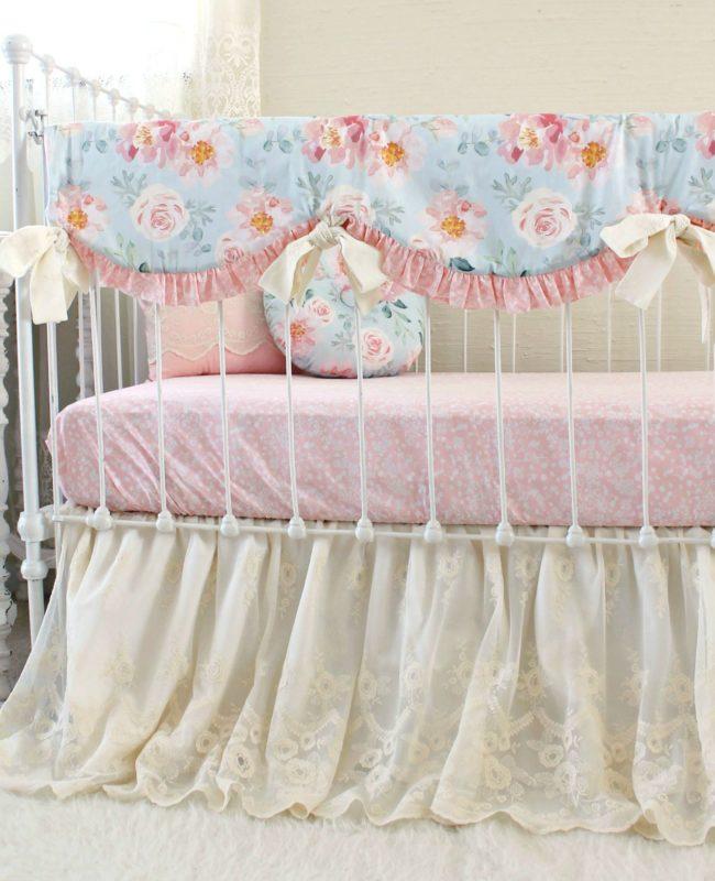 Vintage Floral Baby Bedding